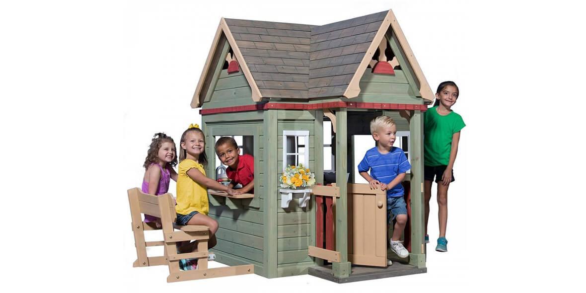 za domek ogrodowy dla dzieci Victorian Inn