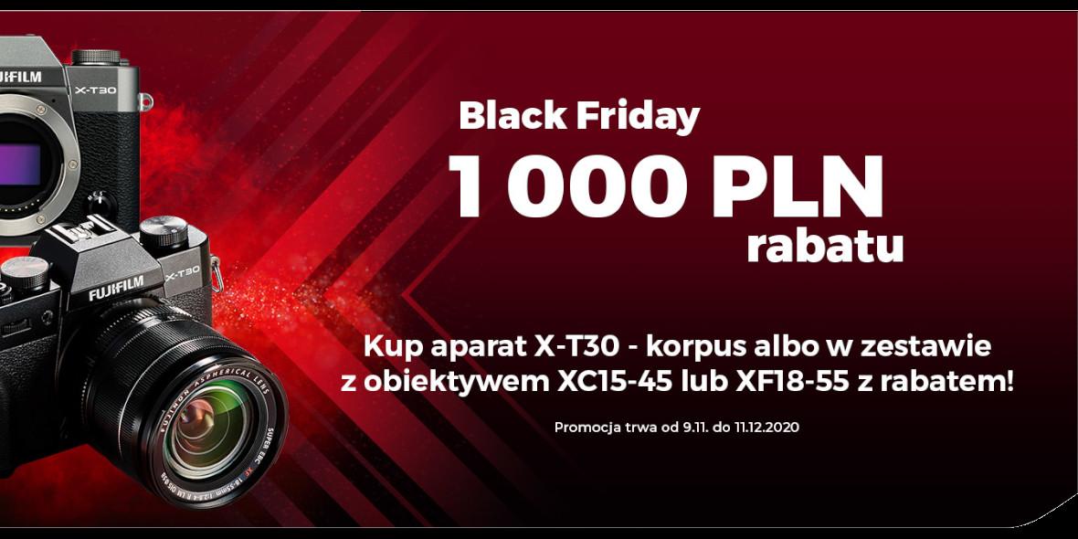 FotoForma: -1000 zł za zakup aparatu Fujifilm 10.11.2020