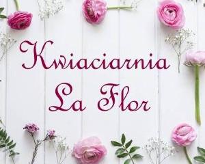 Logo KWIACIARNIA LA FLOR