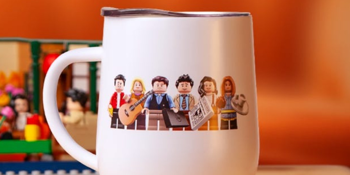LEGO: Prezent upominkowy kubek Central Perk