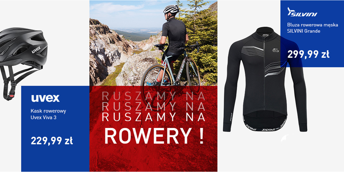 Intersport: Do -30% na odzież i akcesoria rowerowe 25.02.2021