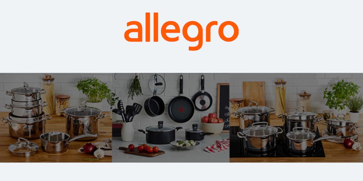 Allegro: 50 zł ZWROTU za zakup produktów Tefal 15.09.2021