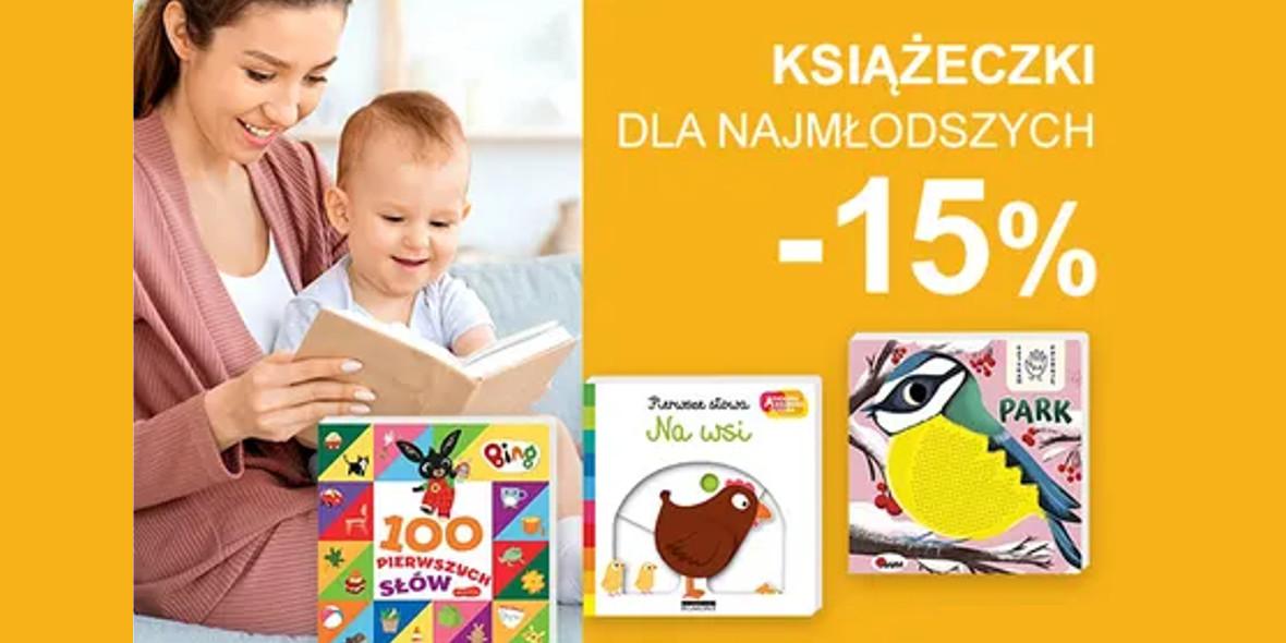Smyk: -15% na książki dla najmłodszych 21.09.2021