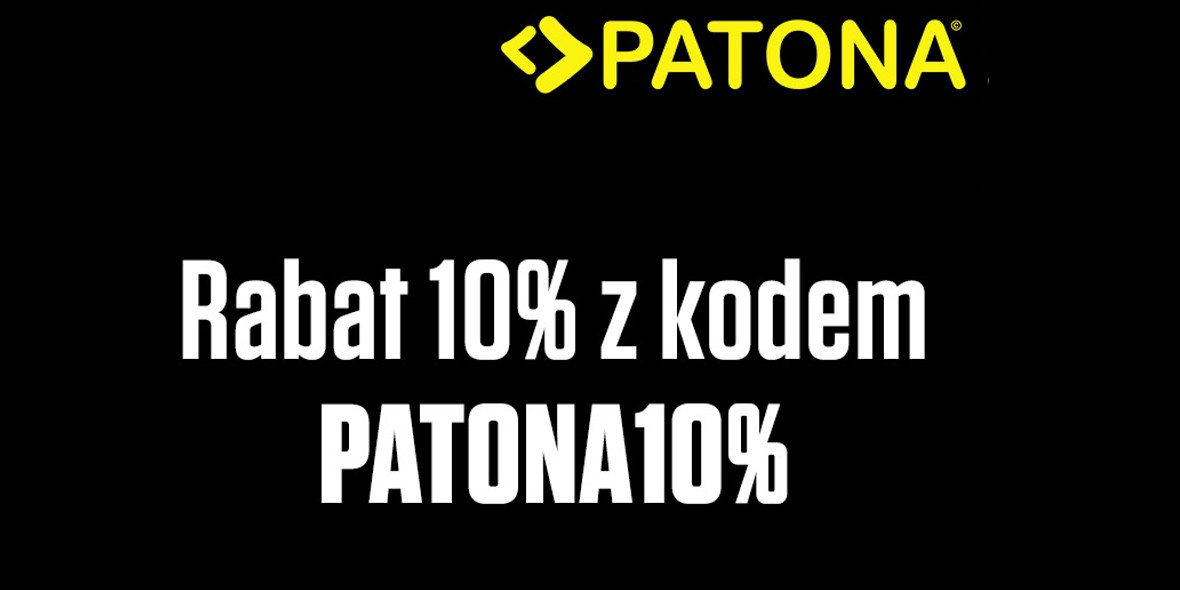 FotoForma: Kod: -10% na produkty Patona 14.09.2021
