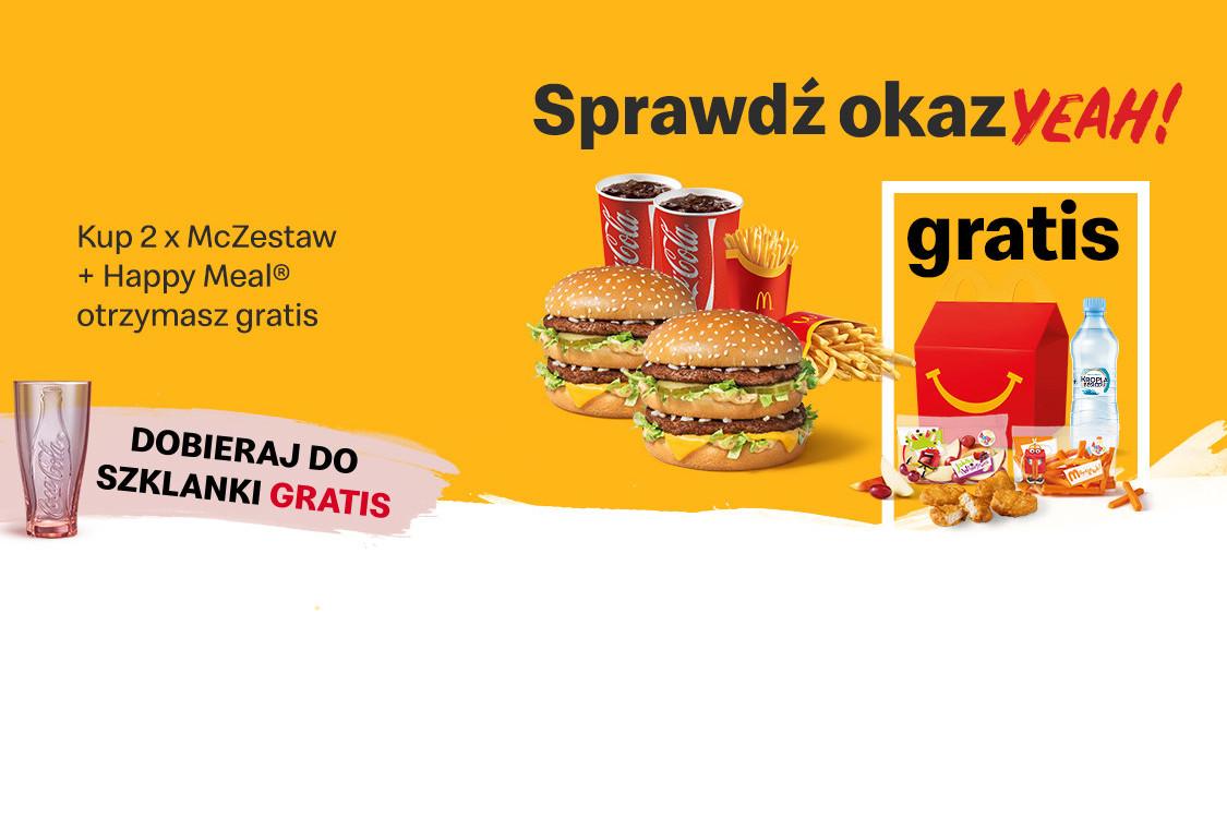 Gratis Happy Meal®