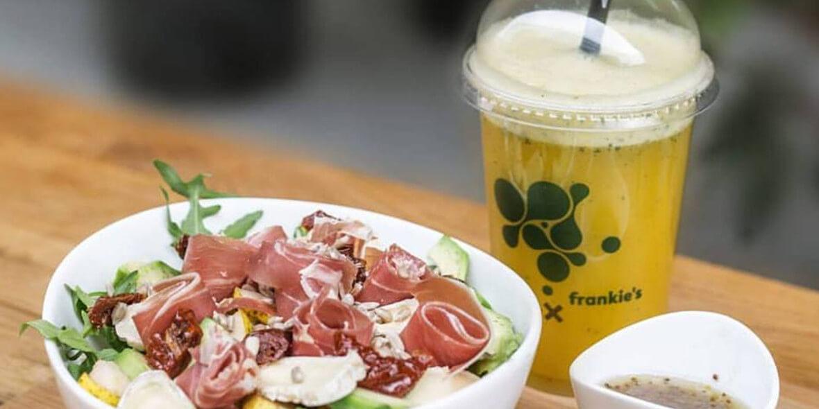 Frankie's: -10% na soki, kanapki i sałatki