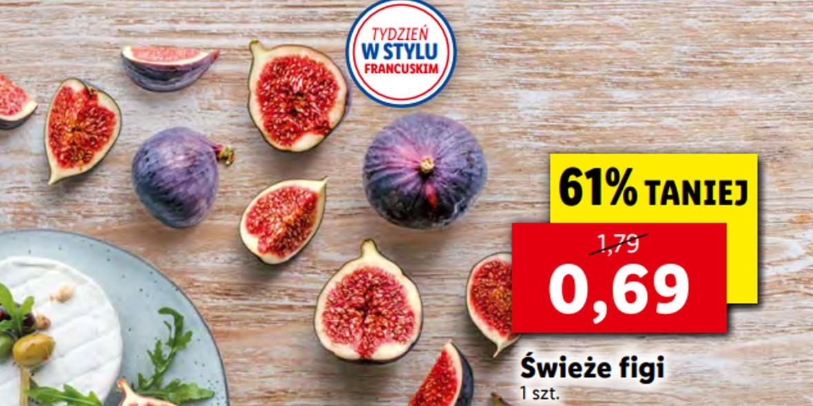 Lidl:  -61% na figi 27.09.2021