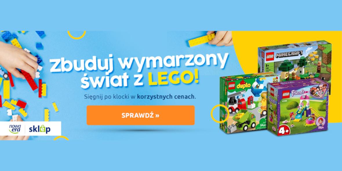 Nowa Era:  LEGO w korzystnych cenach 20.07.2021