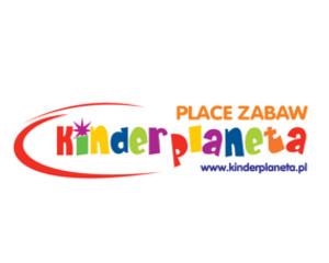 """Logo Plac Zabaw """"kinderplaneta"""""""