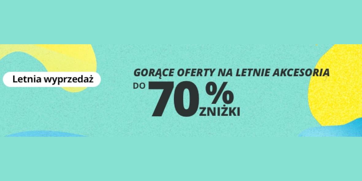 AliExpress: KODY do -23$ i letnie oferty do -70% 21.06.2021