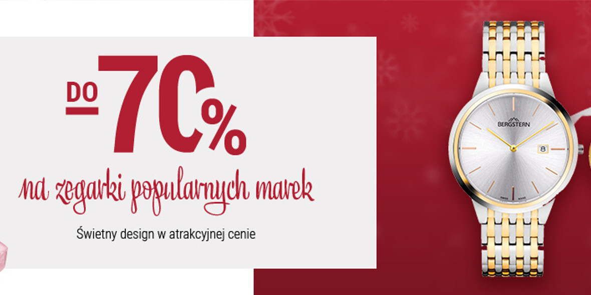 Apart: Do -70% na zegarki 01.01.0001