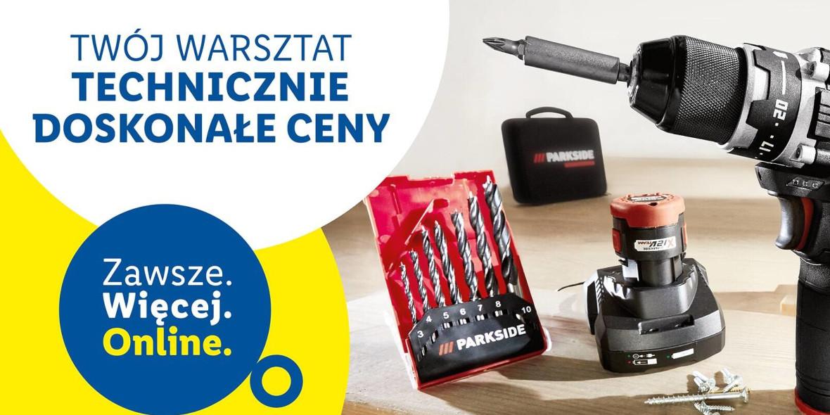 Lidl: ONLINE Nowe produkty dla Twojego warsztatu 21.01.2021