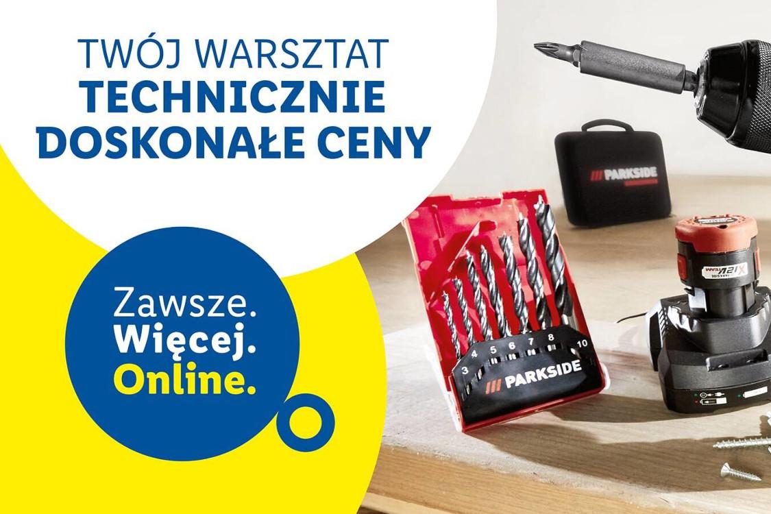 Lidl: ONLINE ONLINE Nowe produkty dla Twojego warsztatu 21.01.2021