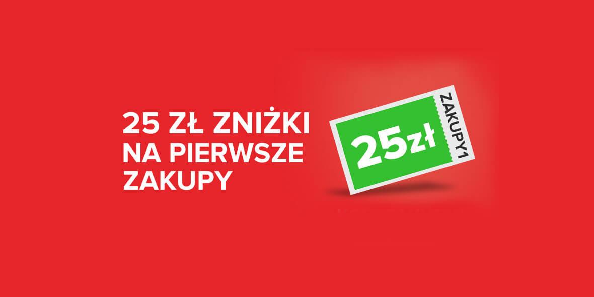 Barbora: -25 zł na pierwsze zakupy 05.06.2021