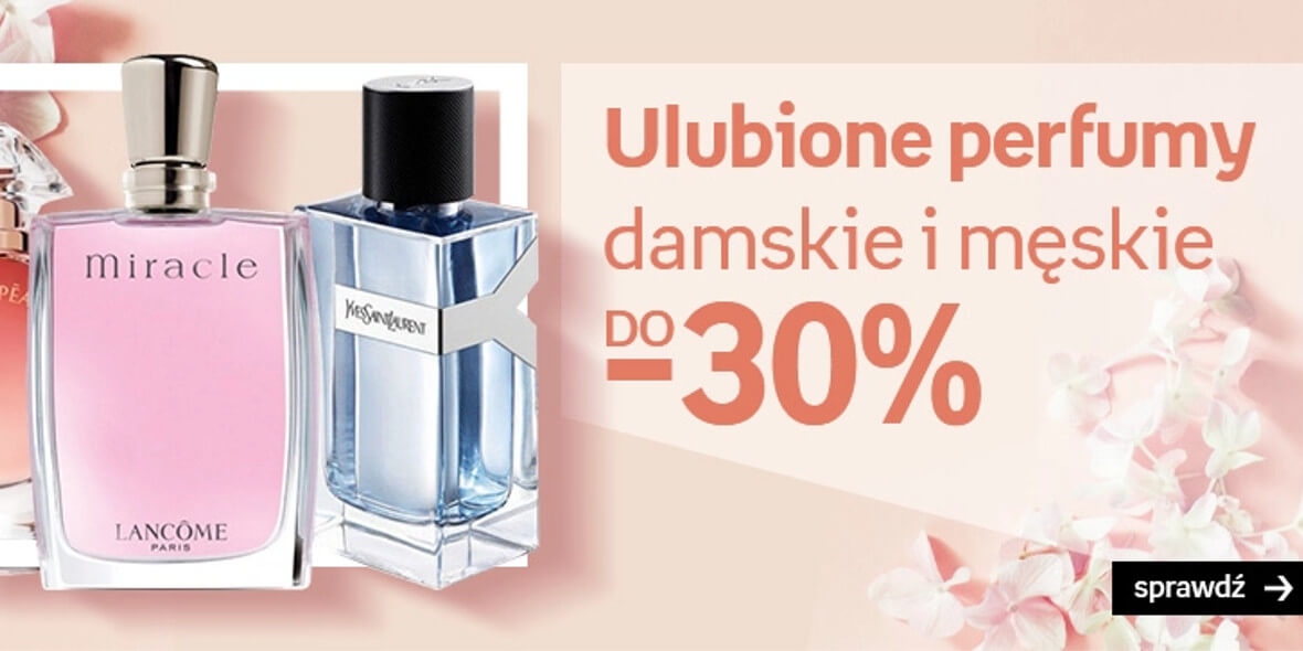 Empik: Do -30% na ulubione perfumy 06.05.2021