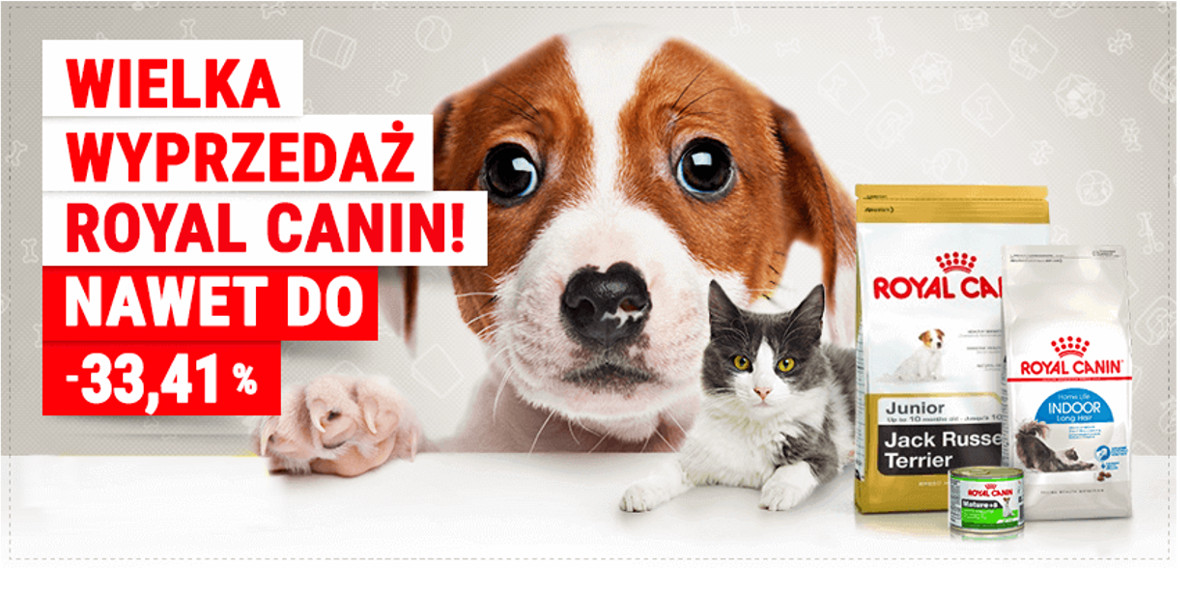 na karmę Royal Canin