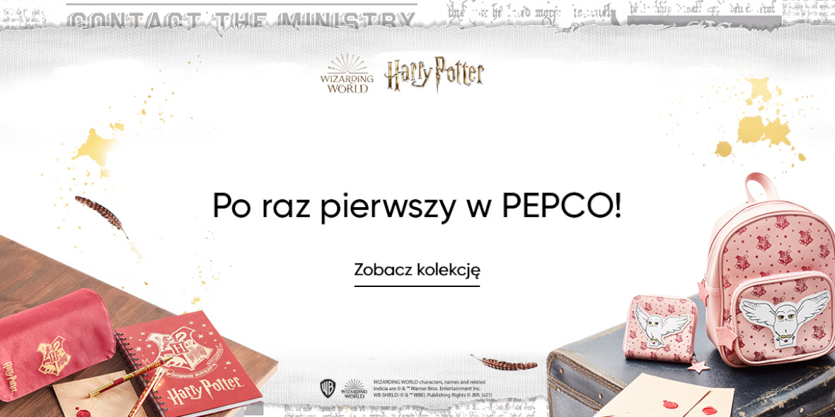 Pepco:  Kolekcja Harry Potter 18.08.2021