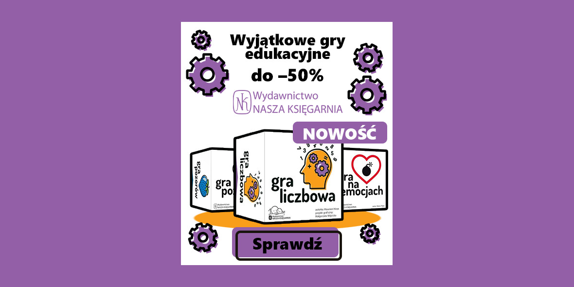 Czytam.pl: Do -50% na gry edukacyjne