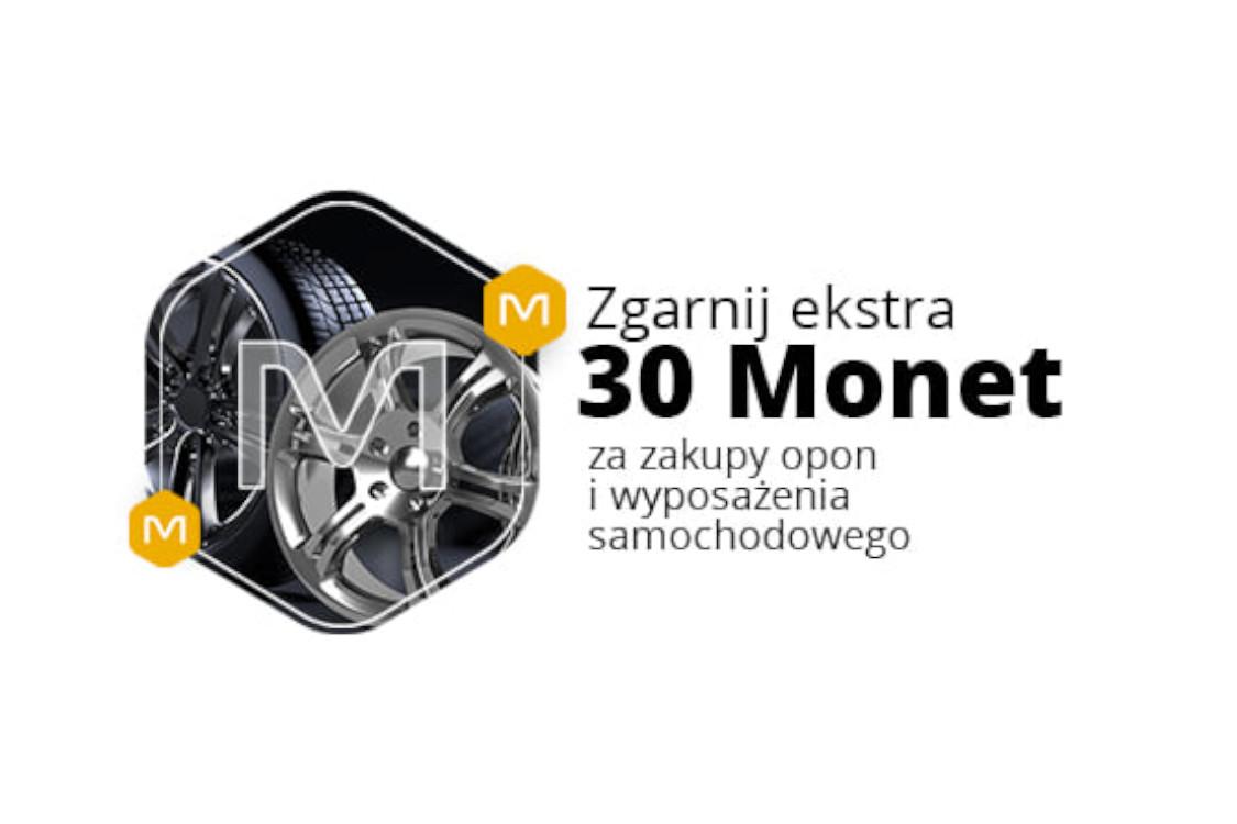 Allegro: +30 Monet za zakup opon i wyposażenia samochodowego