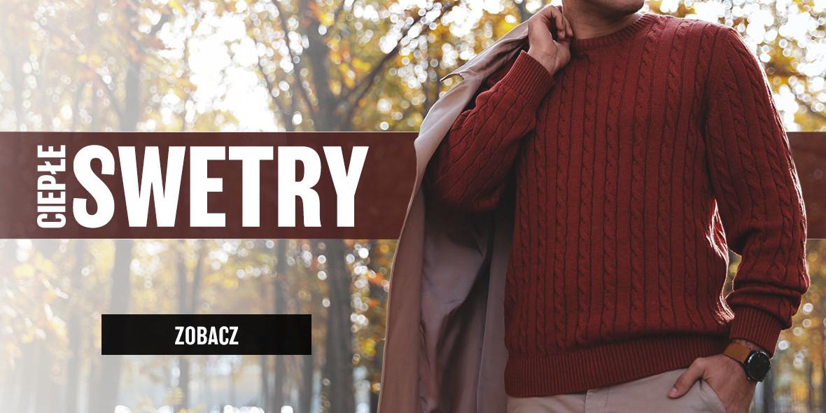 Edoti: Od 39,99 zł Idealne swetry na zimę 21.01.2021