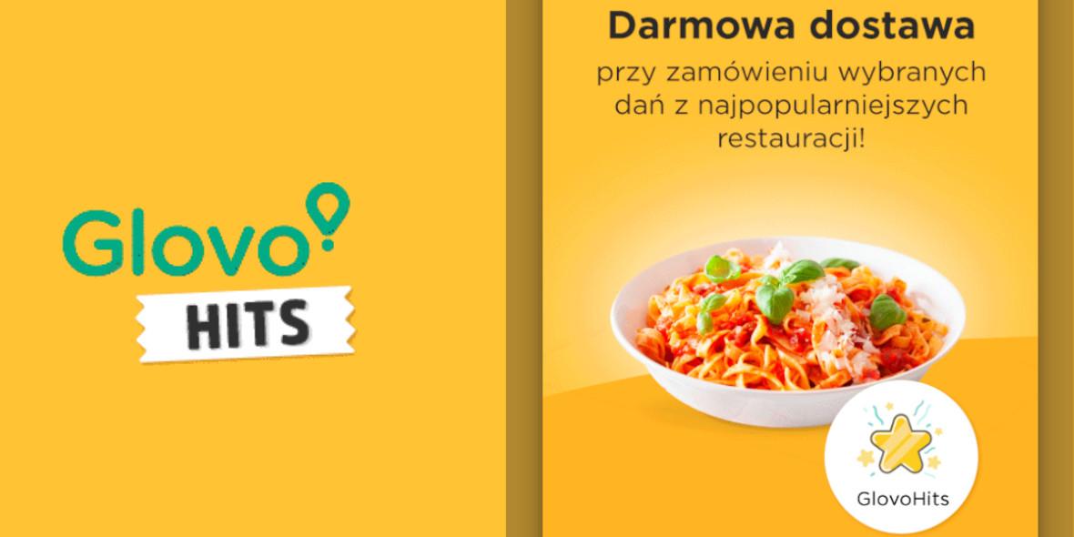 Glovo: Darmowa dostawa z wybranych restauracji