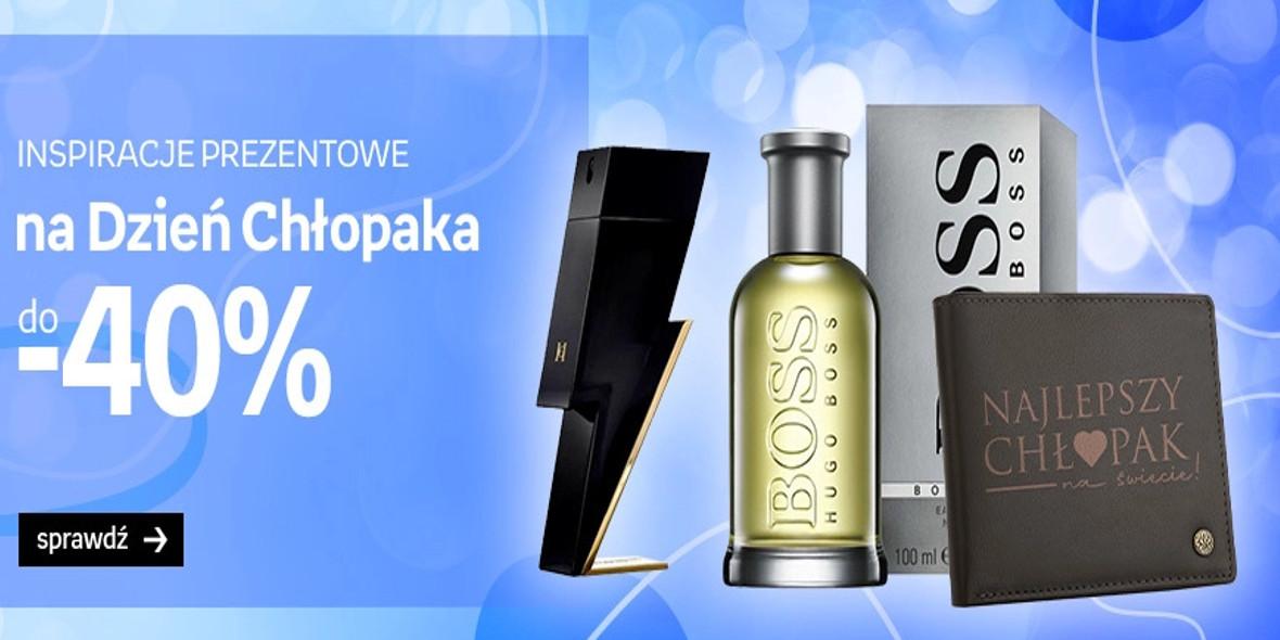 Empik: Do -40% na perfumy na Dzień Chłopaka 20.09.2021