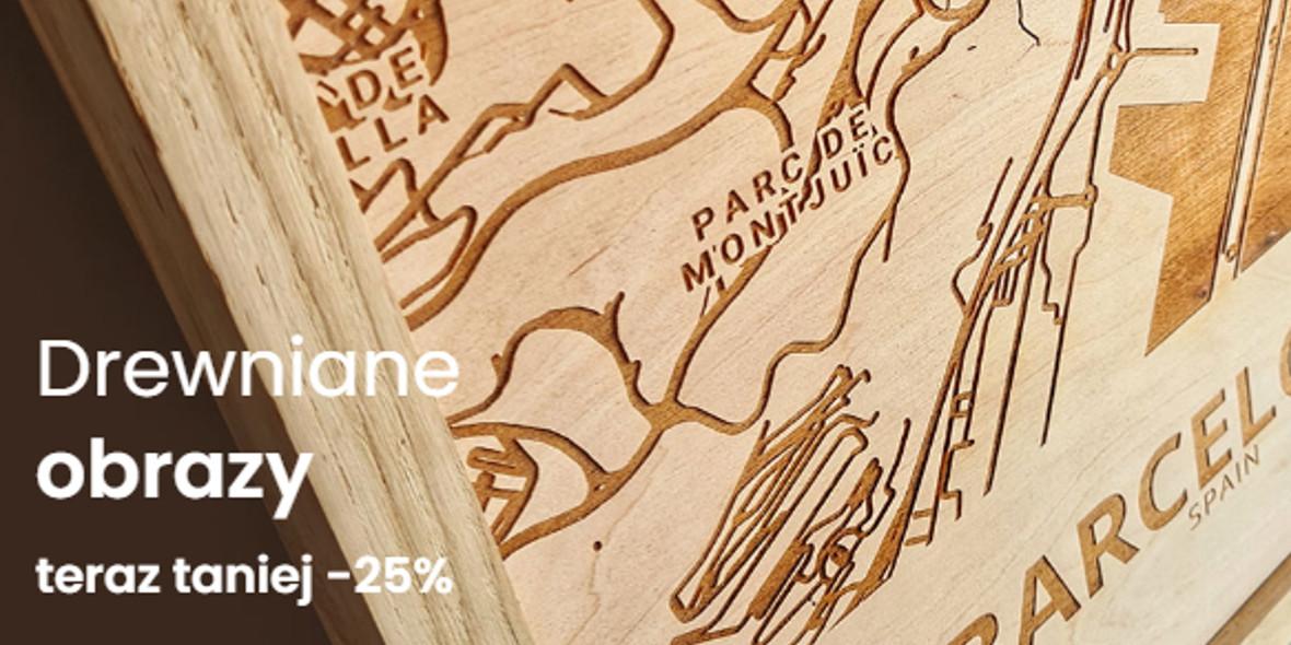 Sikorka.net: -25% na wszystkie drewniane obrazy