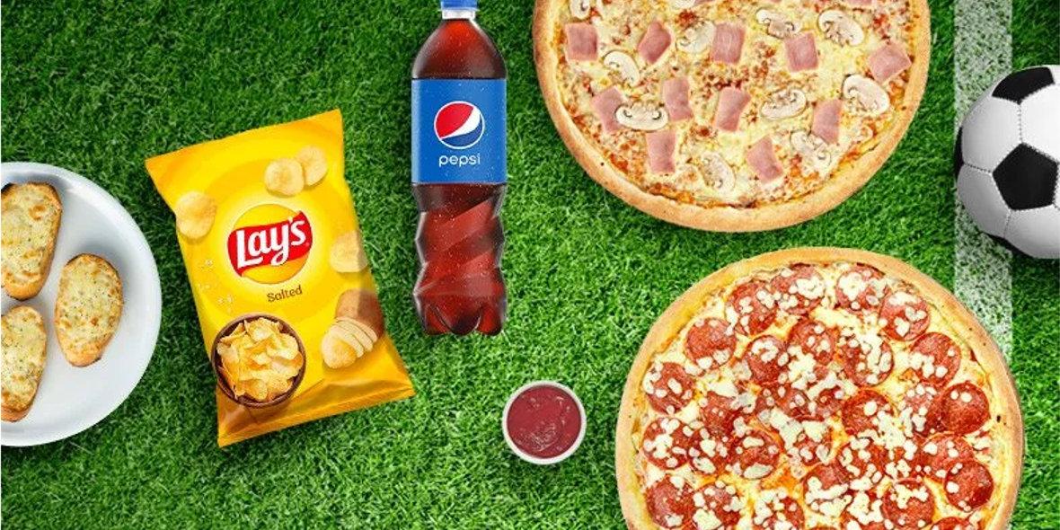 Pizza Dominium: Od 49,90 zł za zestaw kibica
