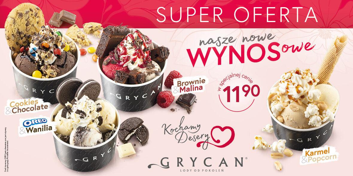 Grycan:  NOWE desery na WYNOS 04.05.2021