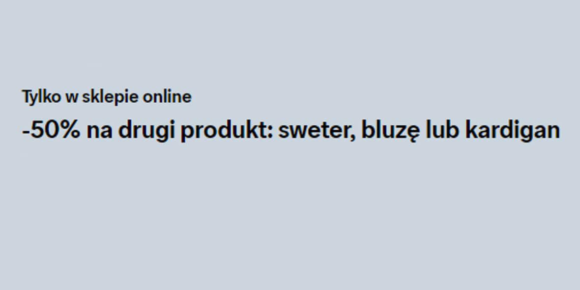 C&A: Kod: -50% na drugi produkt