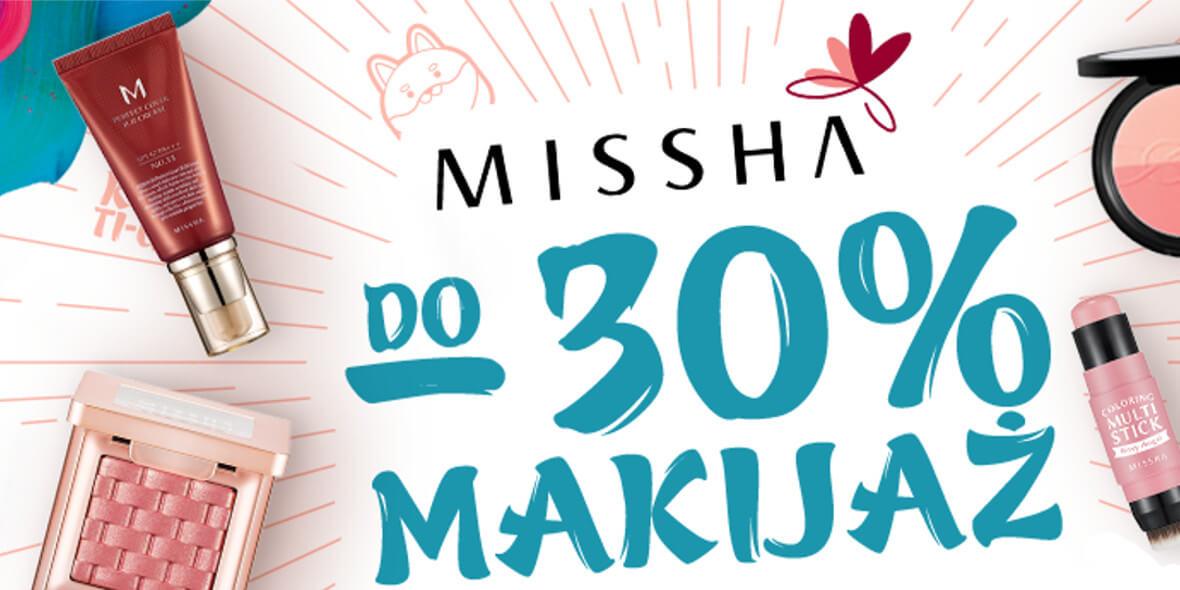 na kosmetyki do makijażu marki Missha