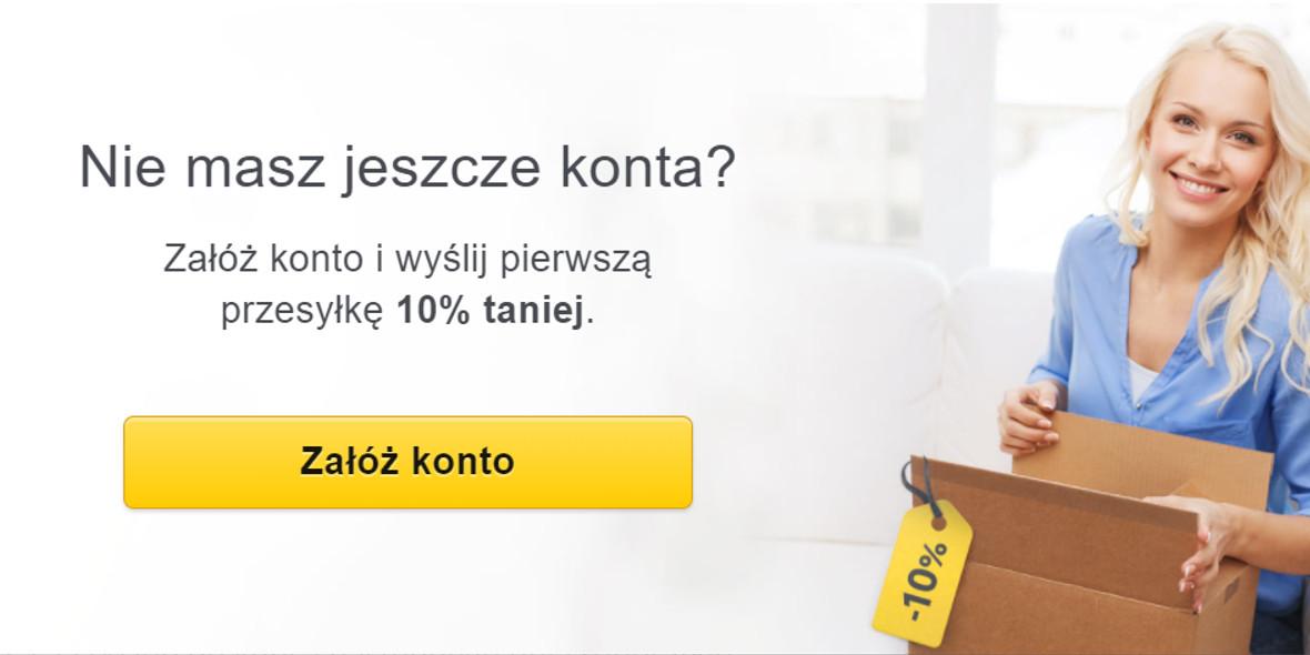 Furgonetka: -10% na pierwszą przesyłkę 07.01.2021