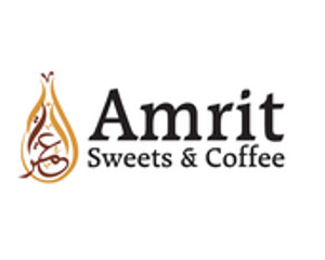 Logo Amrit Sweets & Coffe