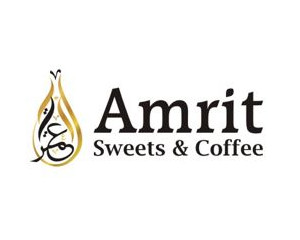Logo Amrit Sweets & Coffee