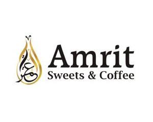 Logo Amrit Sweets & Coffee