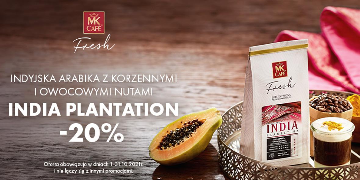 MK Cafe:  -20% na kawę miesiąca 15.10.2021