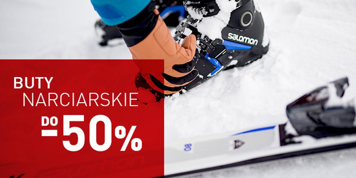 Intersport: Do -50% na buty narciarskie