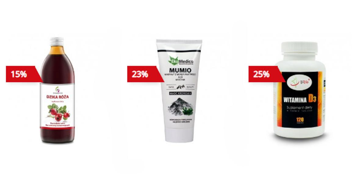 coś dla zdrowia: Do -55% na wybrane produkty