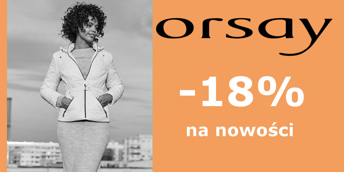 Orsay: Kod: -18% na nowości 09.09.2021