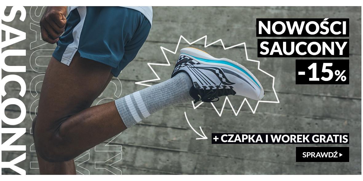 RunnersClub.pl: -15% na nowości marki Saucony 19.10.2021