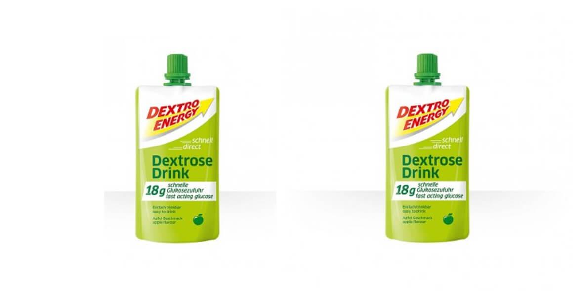 na napój energetyczny Dextro o smaku jabłkowym