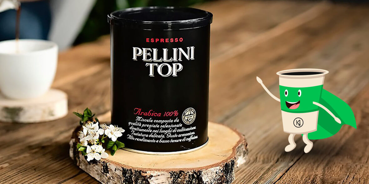Konesso: Do -30% na włoskie kawy Pellini