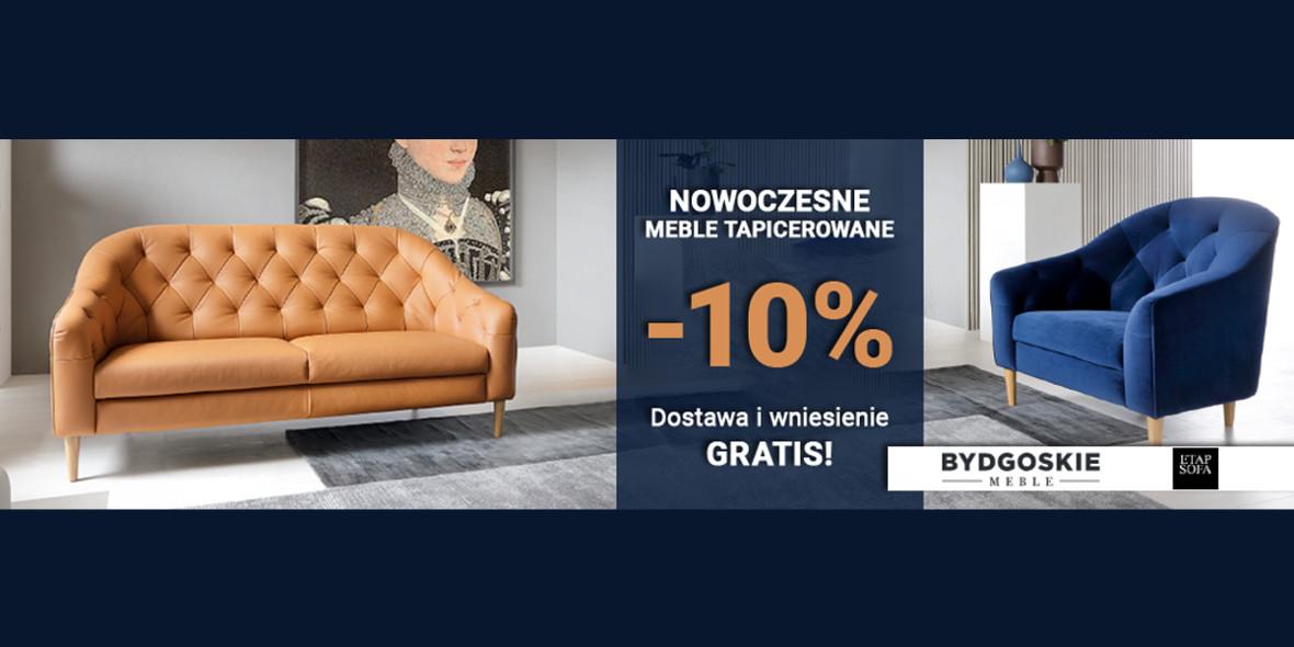 Meble-Bogart.pl: -10% na nowoczesne meble tapicerowane 14.09.2021