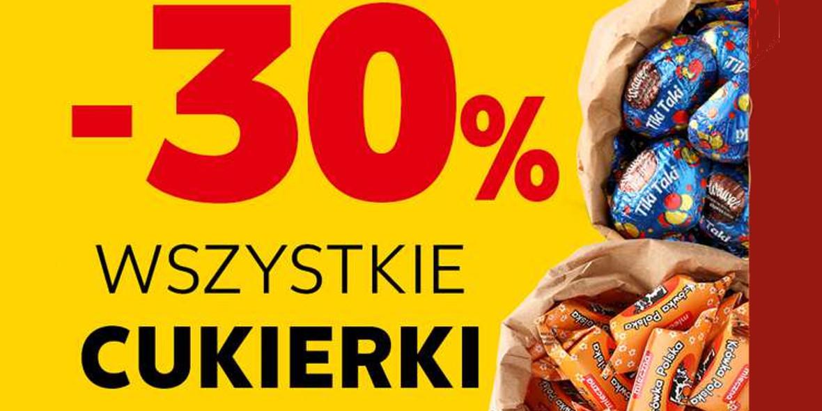 Kaufland: -30% na wszystkie cukierki na wagę 20.09.2021