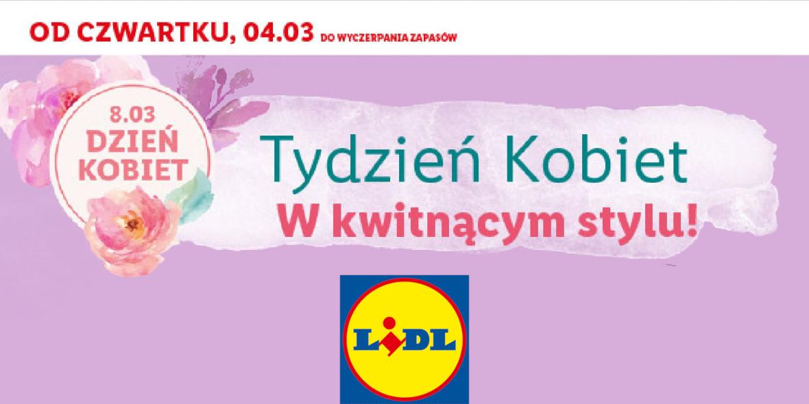 Lidl:  Kwiaty na Dzień Kobiet w Lidlu 04.03.2021