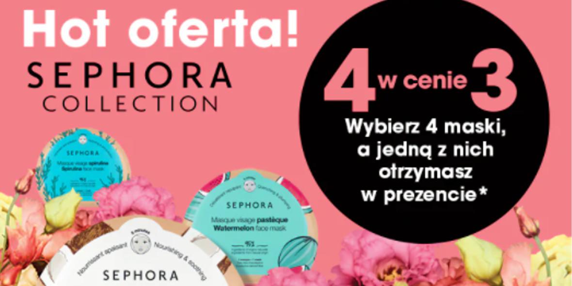 Sephora: 4 w cenie 3 na maski Sephora Collection 07.05.2021