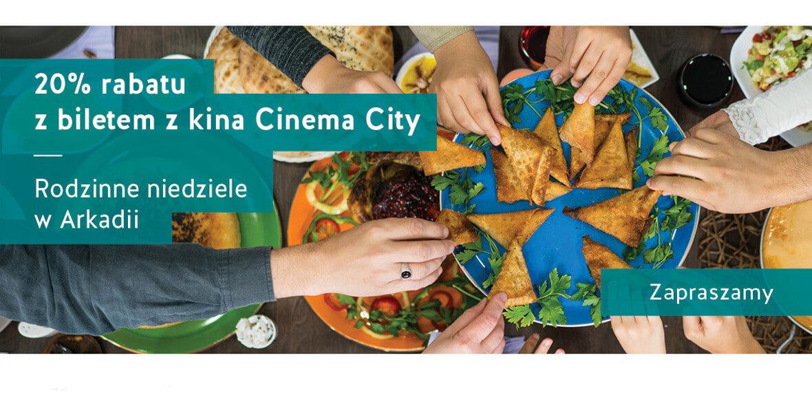 na zamówienie z biletem z kina Cinema City