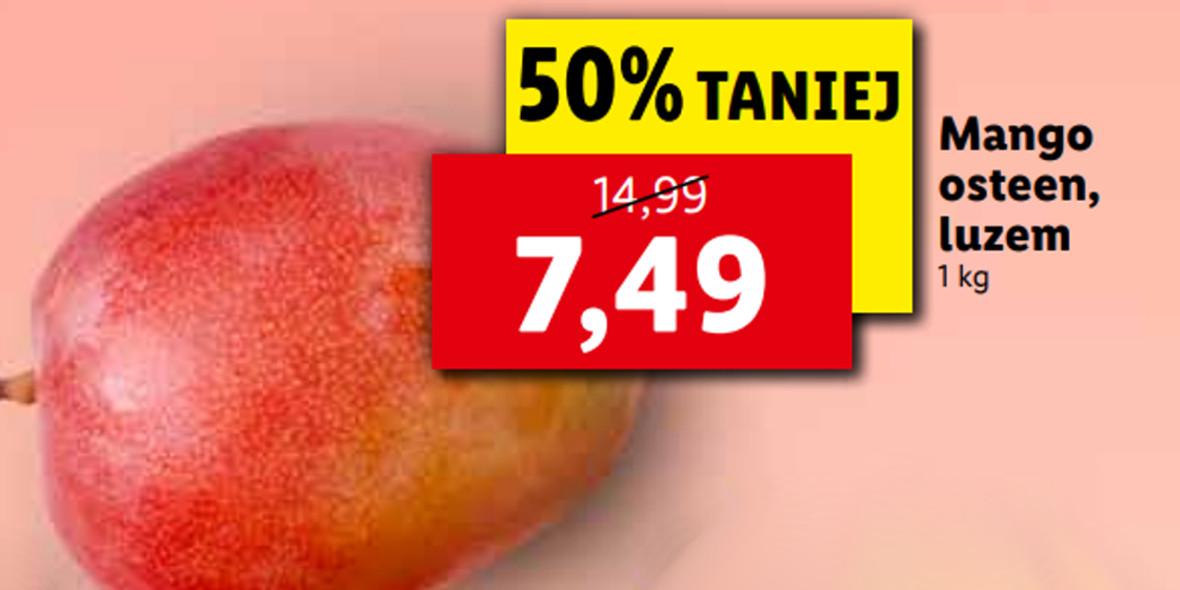 Lidl:  -50% na mango Osteen 18.10.2021