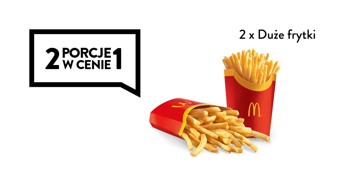 2 porcje w cenie 1