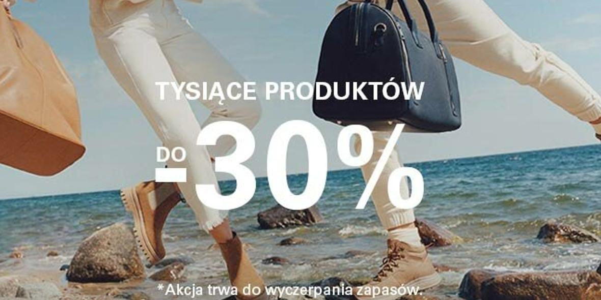 CCC:  Do -30% na tysiące produktów 21.09.2021